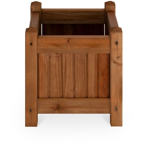 Macetero de madera - COLOMBO