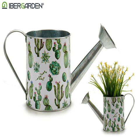 Macetero Metal Cactus (11,5 X 12,5 X 29cm)