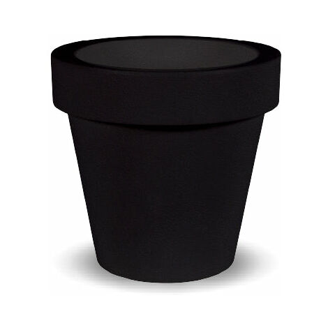 Macetero MOOVERE 60 Negro