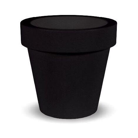 Macetero MOOVERE 90 Negro
