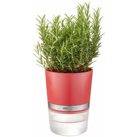 Macetero para hierbas BOTANICO Gefu Rojo frambuesa