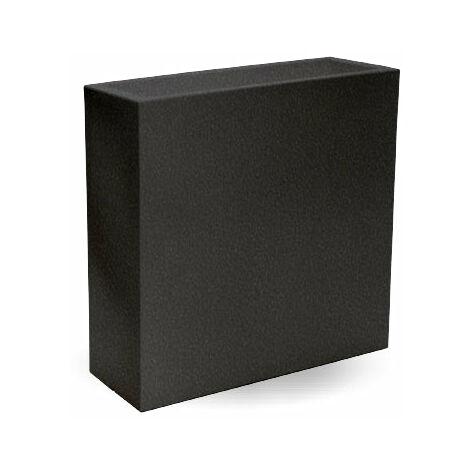 Macetero rectangular Hight MOOVERE 80 Antracita