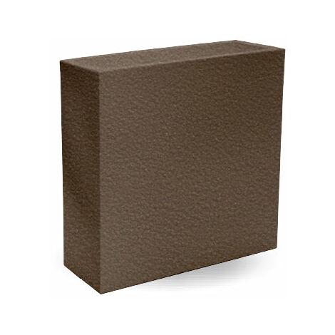Macetero rectangular Hight MOOVERE 80 Topo