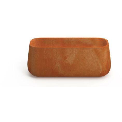 Macetero rectangular Large MOOVERE Terracota