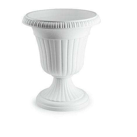 """main image of """"Macetero rendondo copa de plastico 48 cm Blanco"""""""