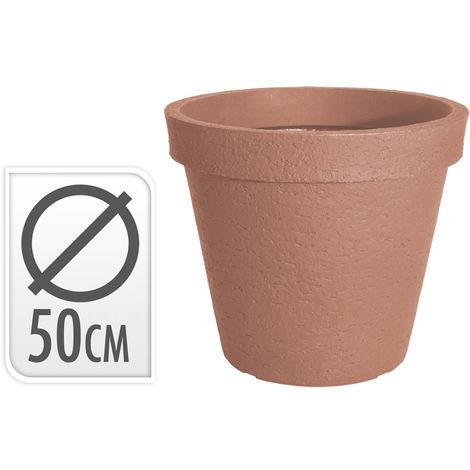 Macetero Resina 50 Cm. Terracota