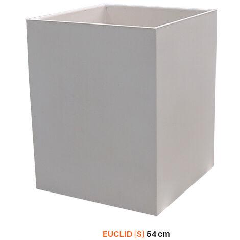 MACETERO TUOZI EUCLID [S] 38.5 Liso Blanco
