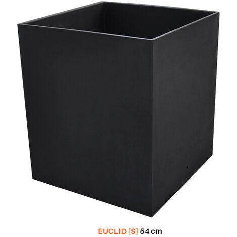 MACETERO TUOZI EUCLID [S] 38.5 Liso Negro