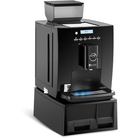 Machine À Café Automatique Expresso Cappuccino Avec Mousseur Moulin 750g Grains
