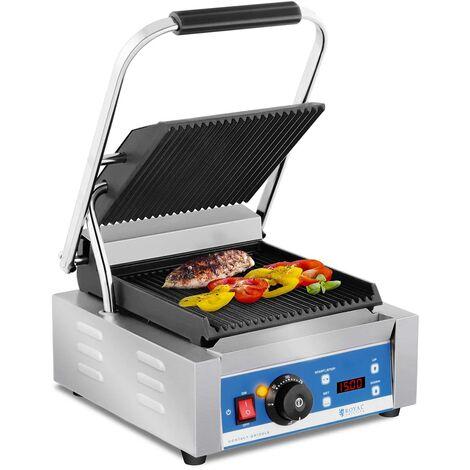 Machine à panini Grill Cuisine Contact Grill Antiadhésif Plaques 1800W