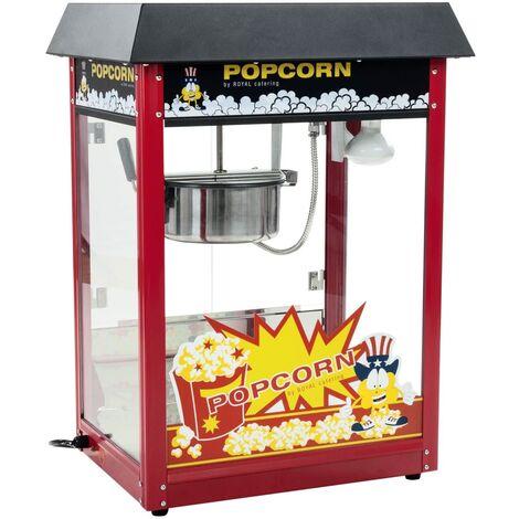 Machine A Popcorn Appareil A Pop Corn Cuiseur Pop-Corn Retro Professionnel Inox
