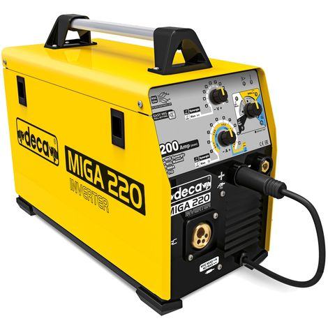 Machine à souder à inverseur multifonction DECA MIGA 220