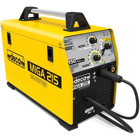 Machine à souder à onduleur multi-processus DECA MIGA 215