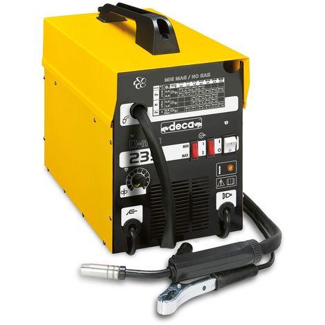 Machine à souder avec fil continu Deca D-mig 235 gaz et sans gaz
