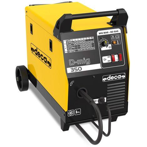 Machine à souder DECA D-mig 350 gaz et sans gaz