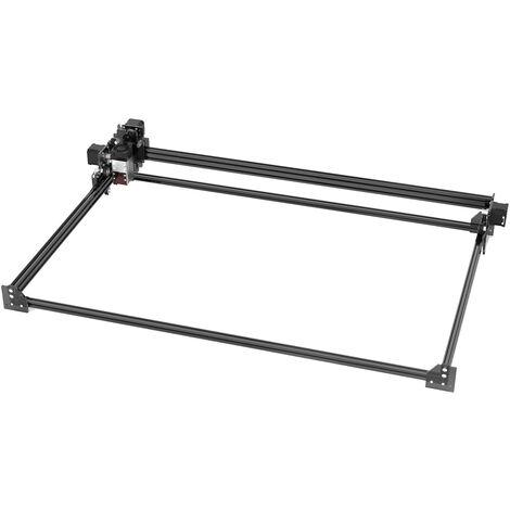 Machine de gravure et de decoupe laser NEJE Master 2 Max avec tete laser zoom 4060-30W 46 ¡Á 77cm12V3A-Alimentation standard europeenne 13 types d'accessoires