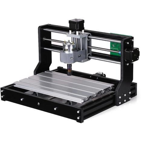"""main image of """"Machine fraisage graveur CNC routeur vitesse réglable broche moteur gravure sur bois"""""""