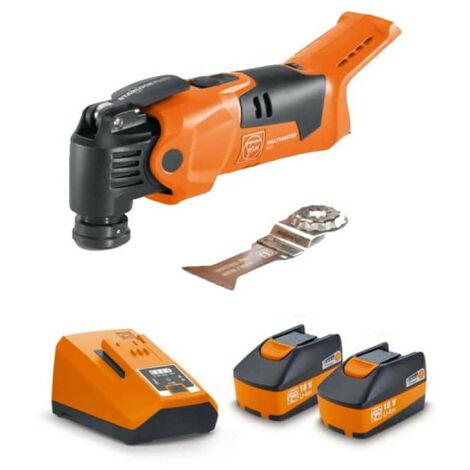 Machine oscillante FEIN - Plus Select - 18V - AMM 500 - 2 batteries 6,0Ah 1 chargeur - 72296862000