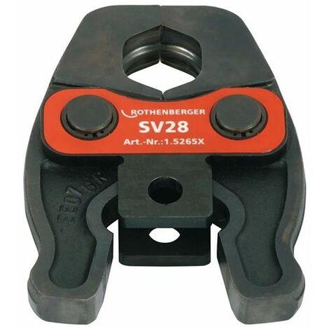 Machoires Rothenberger compact V/SV15