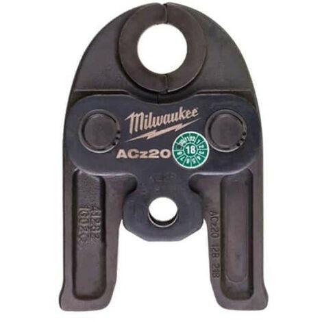 Mâchoires sertisseuse MILWAUKEE M12 Diamant J12-ACz 20 - 20mm - 4932459390