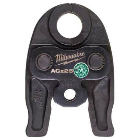 Mâchoires sertisseuse MILWAUKEE M12 Diamant J12-ACz 25 - 25mm - 4932459391