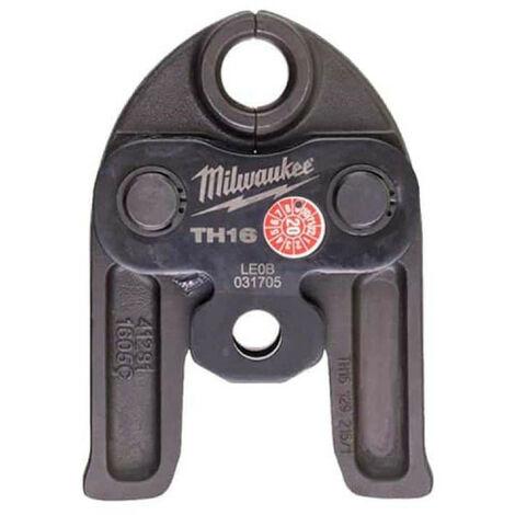 Mâchoires sertisseuse MILWAUKEE M18 J18-TH16 - 16mm - 4932430277