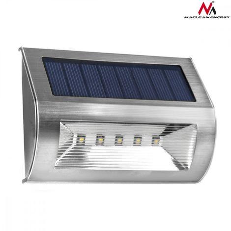 Lot 2 Energie Solaire Jardin 5 DEL Abri Garage Lumière Rechargeable Éclairage Extérieur