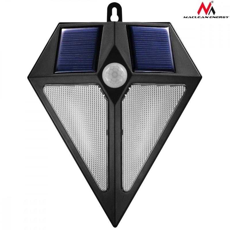 maclean mce168 led lampe solaire d tecteur de mouvement. Black Bedroom Furniture Sets. Home Design Ideas