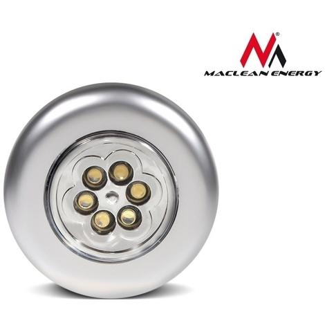 D'énergie Lumière Adhésif Auto Consommation Armoire Mce27 Lampe Faible Touchez Poussez De La Maclean 6xled eEH29IYWD