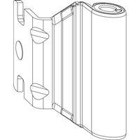 MACO Bandwinkel AS/PVC 12/20-13 mm, inkl. Abdeckkappe weiß (55009)