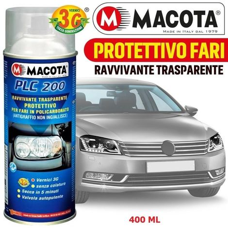 MACOTA PLC 200 Ravvivante Trasparente Fari Protettivo Vernice Spray 400 ML