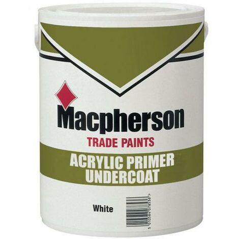 "main image of ""Macpherson Acrylic Primer Undercoat - White - 1L"""