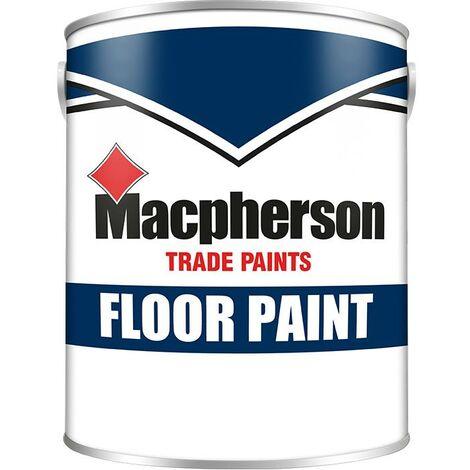 Macpherson Floor Paint - Red - 5L
