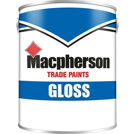Macpherson Gloss - Black - 1L