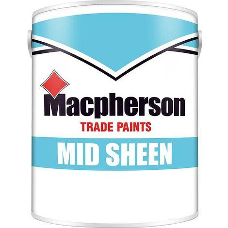 Macpherson Mid Sheen - Brilliant White - 2.5L