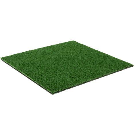 MadeInNature Gazon Artificiel Vert Basque, Aspect Naturel Fibres Vertes, Pelouse Synthétique, Nombreuses Dimensions - Vert - Longueur 10 m - 1.33 m.