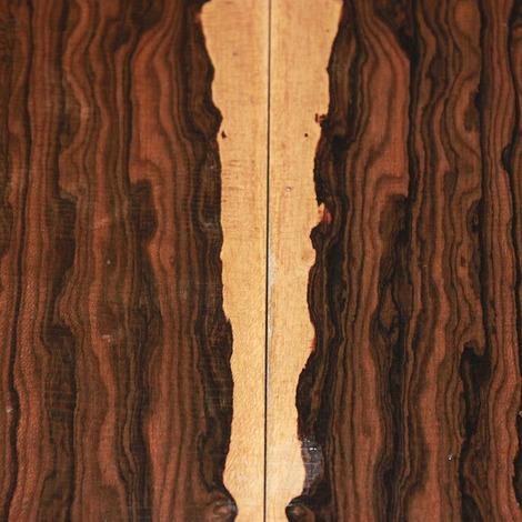 Madera de Ziricote (150x150x65 mm)