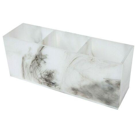 Madison Acrylic Storage Tray 3 Compartment