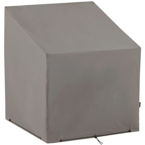 Madison Funda para sillas de jardín 75x78x90 cm gris - Gris