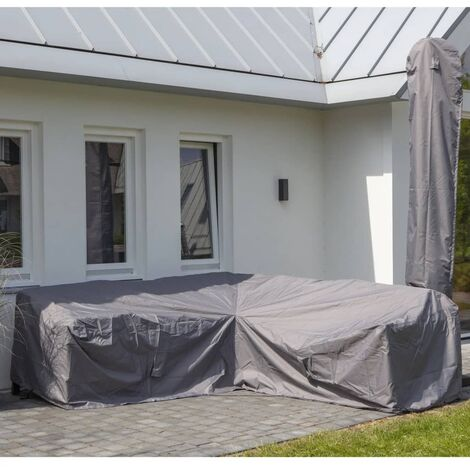 Madison Outdoor Lounge Set Cover 270x270x70cm Grey - Grey