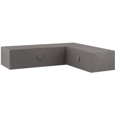 Madison Outdoor Lounge Set Cover 320x255x70cm Right Grey - Grey