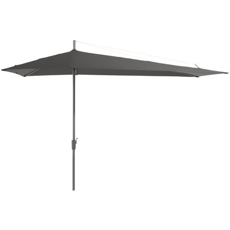 Madison Parasol Asymmetric Sideway 360x220 cm Grey PC15P014