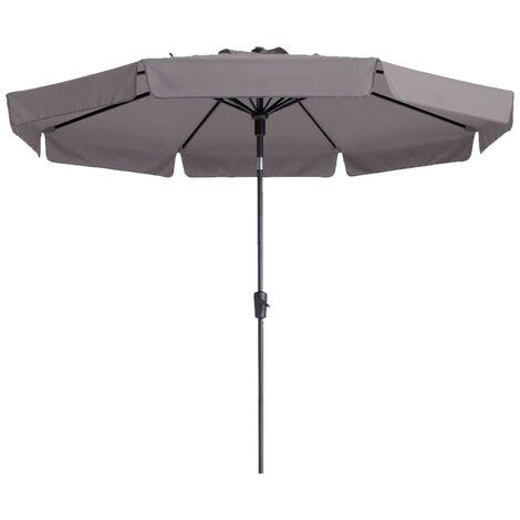 Madison Parasol Flores 300 cm Round Taupe PAC2P015