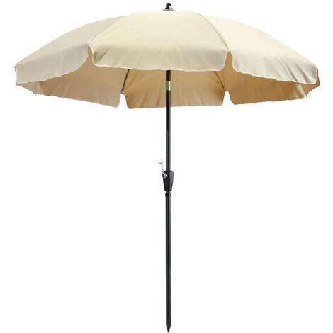 Madison Parasol Lanzarote 250 cm Ecru - Brown