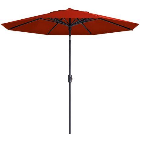 Madison Parasol Paros 300 cm Brick Red - Red