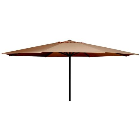 Madison Parasol Paros Round 300 cm Grey PC14P014