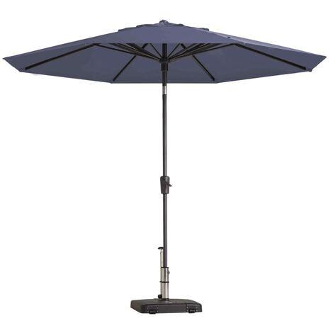 Madison Parasol Paros Round 300 cm Sapphire Blue