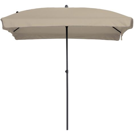 Madison Parasol Patmos Luxe 210x140cm Garden Beach Umbrella Multi Colours