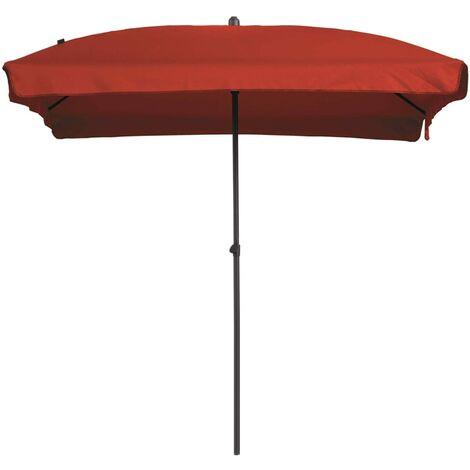 Madison Parasol Patmos Rectangle 210x140 cm Brick Red