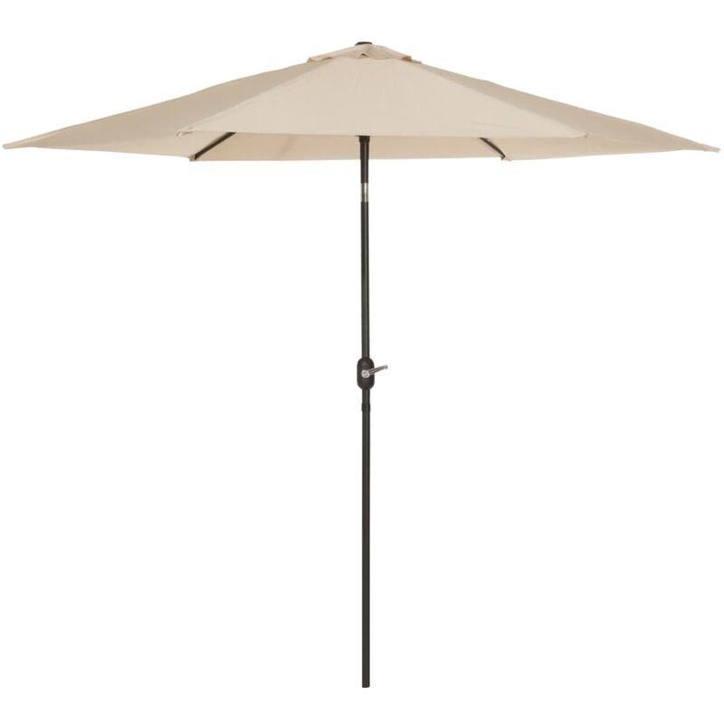 Parasol Tenerife 300 cm Écru - Madison
